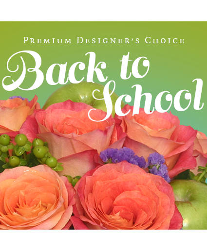 Back to School Flowers Premium Designer's Choice