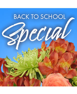 Back to School Special Designer's Choice in Hughes Springs, TX | Hughes Springs Flower Mill