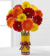 Back to School Vase Arrangement