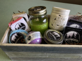 Backwoods Soap and Candle Co.  Gift Basket