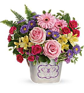 Backyard Butterfly Bouquet  in Winnipeg, MB | Ann's Flowers & Gifts