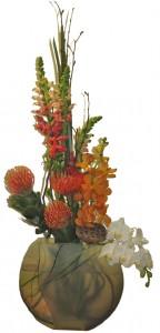 Badash Crystal Tropical Cut Flowers