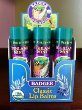 Badger Co. Lip Balm Highland Mint