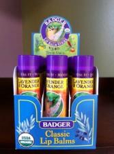 Badger Co. Lip Balm Lavender & Orange