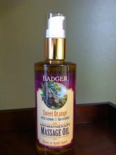 Badger Co. Massage Oils Ginger