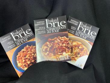 Baked Brie Toppings Gourmet Food