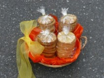 Bakery Cookie Basket Shown with 4 Dozen $80.00