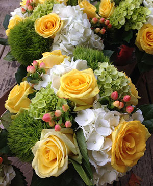 Ball of Sunshine Bouquet in Ozone Park, NY | Heavenly Florist