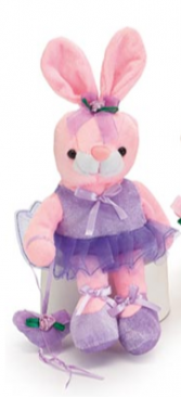 Plush Ballerina Bunny Stuffed Animal