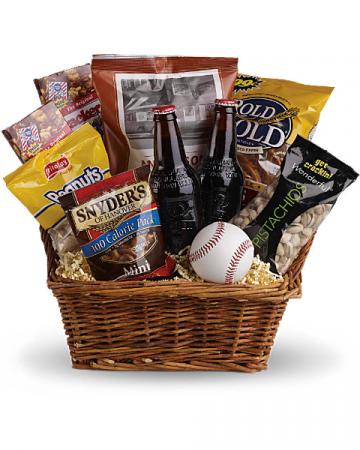 Ballgame Gift Basket Gift Basket