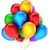 Latex Balloons x 3