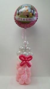 Balloon Baby Bottle Artistic Balloon Arrangement