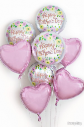 Balloon bouquet Balloon Bouquets and  or single Mylar balloons.