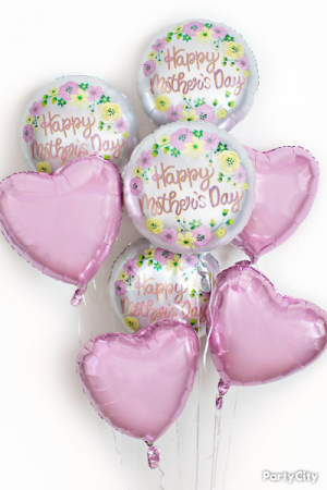 Balloon bouquet Balloon Bouquets and  or single Mylar balloons. in North, SC | Elegant Creations Flowers Events & More