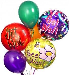 Balloon Bouquet Get Well