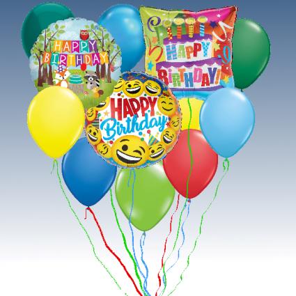 Balloon Bouquet - Birthday