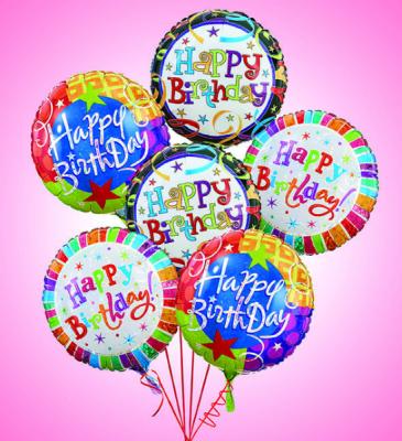 BALLOON BOUQUET Happy Birthday, Get Well, Congratulations