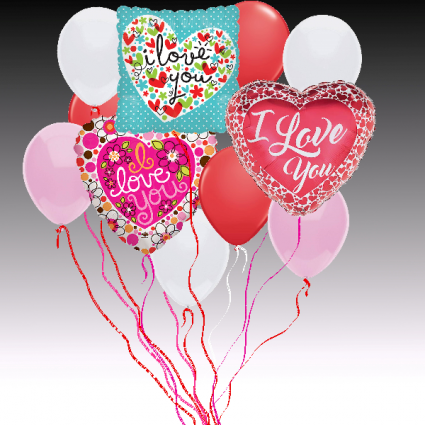 Balloon Bouquet - Love