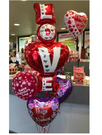 Balloon Bouquet Valentine's Day