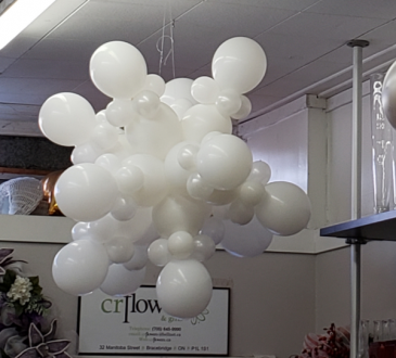 Balloon Snow Flake Balloons