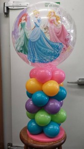 Balloon Table Arrangement for Her Balloons