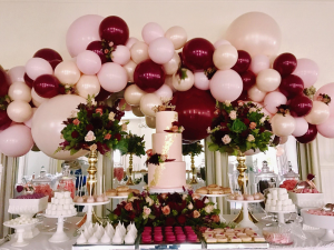 Balloons & Flower Designs  In Collaboration with Parties 'N' More  in Oakville, ON   ANN'S FLOWER BOUTIQUE-Wedding & Event Florist