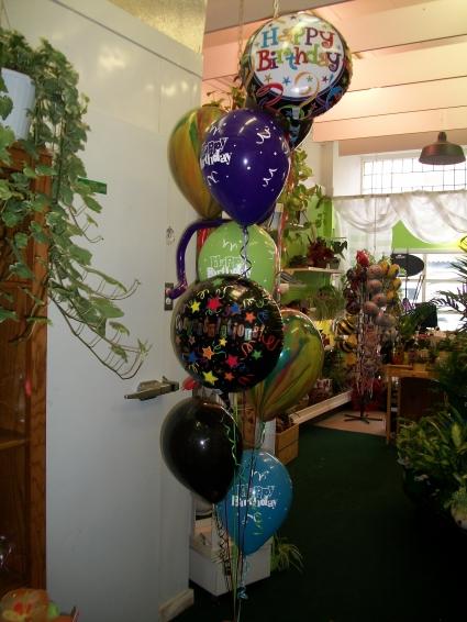 Balloons Have A Big Happy Birthday