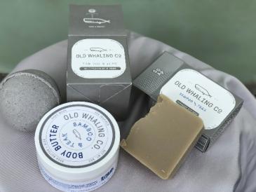 Bamboo & Teak Gift Set Old Whaling Co