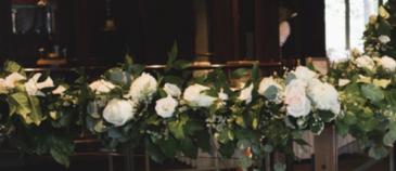 Banister Decor  Reception Flowers