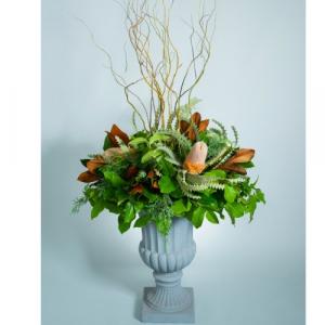 Banksia & Magnolia Fall Planter in Calgary, AB | Al Fraches Flowers LTD