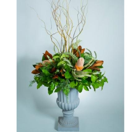 Banksia & Magnolia Fall Planter