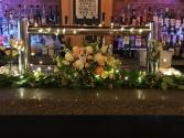Bar Arrangement with Garland  Wedding