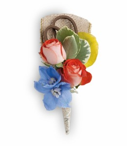 Barefoot Blooms Boutonniere HPR041A