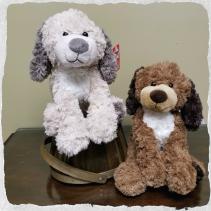 Barkley Dog  Ganz Plush