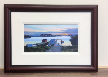 Barr'd Islands Ed Roche framed prints