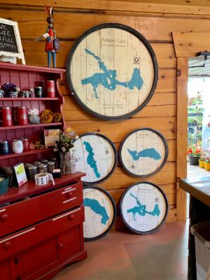 Barrel End Lake Maps Gifts in Balsam Lake, WI | BALSAM LAKE PRO-LAWN INC.