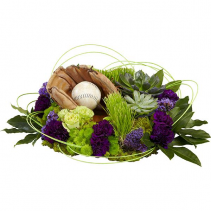 Baseball Lover (Glove & ball not included)  Arrangement