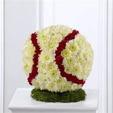 Baseball Wreath Custom Made