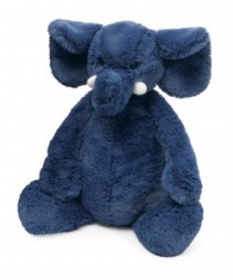 Bashful Blue Elephant Newborn Gift