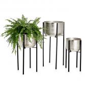 Basin Alluminium Standing planters