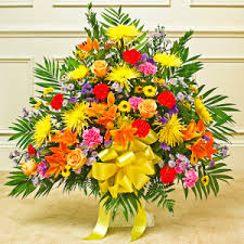 BASKET 17 FUNERAL PC GOOD FOR FUNERAL AND MEMORIAL SERVICES