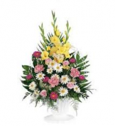 BASKET 9 FUNERAL PC GOOD FOR FUNERAL AND MEMORIAL SERVICES