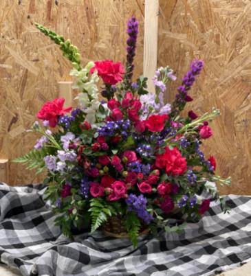 Basket arrangement  Every occasion