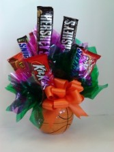Basket Ball  Candy Bouquet