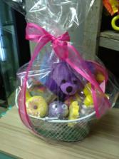 basket for a child child basket