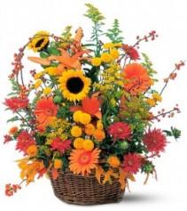 Basket Full of Autumn The Best Seasonal Blooms