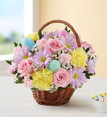 Basket Full of Easter Joy Basket Arrangement