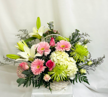 Basket Full of Love  Floral Design