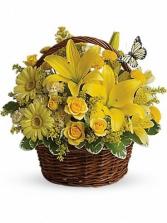 Basket Full of Wishes Arrangement in Ann Arbor, Michigan | Chelsea Flower Shop