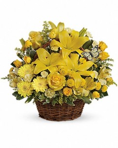 Basket Full of Wishes bouquet